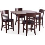 'Seventh Avenue Collection' Counter Height 5-Piece Dining Set