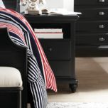 Universal® Smart Stuff 'Black' Collection Nightstand