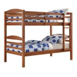 'Owen' Pine Twin-Over-Twin Bunk Bed