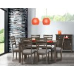 WholeHome®/MD 'Birch Dining Style #5012' 5 Piece Dining Suite with Lyra Chairs