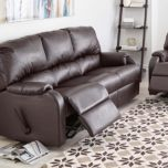 El Ran® 'Pasadena III' Leather-Look Power Recline Sofa