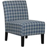 WHI 'Zuda' Accent Chair - Blue