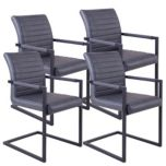 !nspire 'Valder' Accent Chair Set of 4 - Grey