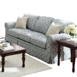 WholeHome®/MD 'Clarissa III' Sofa With Skirted Bottom