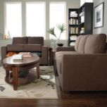 'Lars' Sofa with Storage and Chair