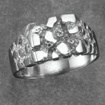 Tradition®/MD Men's Sterling Silver Nugget Ring