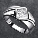 Men's  Diamond Accent Ring
