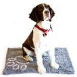 DanaZoo Wet Pet Mat - Grey