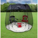 Sportcraft® 9 foot Hexagonal Pop-up Screen Room with Removable Floor