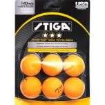 Stiga® Three Star Table Tennis Balls