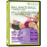 Gaiam™ Balance Ball For Weight Loss - DVD