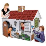 Discovery Kids® 'Cardboard Colour And Play' House