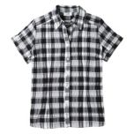 Carroll Reed® Women's Plaid Short Sleeve Button Front Blouse