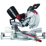 CRAFTSMAN®/MD 12'' Dual Bevel Compound Sliding Mitre Saw with Laser