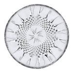 Cristal d'Arques 'Longchamps' Diamond-Cut Glass Set Of 6 Dessert Plates
