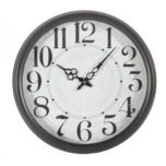 Home Details by Canfloyd™ Wall Clock - Matte Black