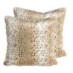 Home Details by Canfloyd™ Faux Fur Square Pillow - Khaki