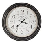 Home Details by Canfloyd™ Wall Clock - Black