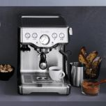 Breville® Infuser™ Die-cast Semi-Automatic Espresso Machine, BREBES840XL