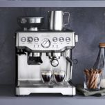Breville® Barista Express Semi-Automatic Espresso Machine with Grinder