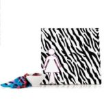 WholeHome®/MD Canvas Wrapped 'Zebra' Print