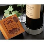 Artisano Designs 'Vineyard Estate' Wine Bottle Coaster