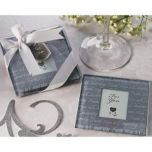 Artisano Designs 'Faith, Hope & Charity' Photo Coasters (Set of 2)