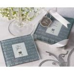 Artisano Designs 'Faith, Hope & Charity' Photo Coasters (Set of 4)