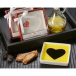 Artisano Designs Case Pack of 'Love Infused' Olive Oil and Balsamic Vinegar Dipping Plate