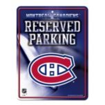 Good Tymes Enterprises Inc. NHL Montreal Canadiens® Parking Sign