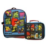 ANGRY BIRDS® Backpack with Lunch Kit