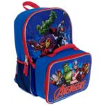 MARVEL® Avengers Backpack and Lunch Kit Combo