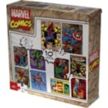 MARVEL® Comics Boys 10-Pack of Puzzles