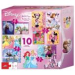 Disney® Girls 10-Pack of Puzzles