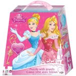 Disney Princess® Puzzle with Jewels and Bracelet Handle