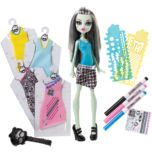 Monster High® Designer Boo-tique Frankie Stein Doll and Fashions