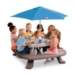 Little Tikes® Fold 'N' Store Picnic Table With Market Umbrella