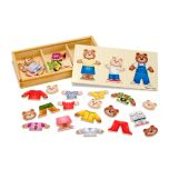 Vtech® Wooden Bear Family Dress-Up Puzzle