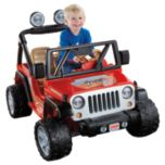 Fisher-Price® Power Wheels® Jeep Wrangler-Red