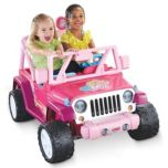 Fisher-Price® Power Wheels® Barbie® 'Jammin' Jeep' 12V Battery-Operated Vehicle