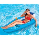 SwimWays(MD) Fauteuil flottant gonflable Spring Float, bleu clair/bleu