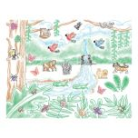 Melissa & Doug(MD) Tampons Melissa & Doug Stamp-A-Scene - forêt tropicale