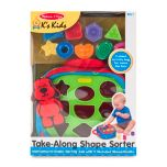 Melissa & Doug® Take-Along Shape Sorter