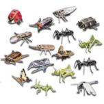 GDC Insects 3D Puzzle Medium Size