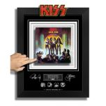 GDC KISS - Love Gun - Archival Etched Glass Collectible - Limited to 1977