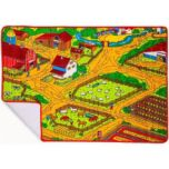 Rugs Planet Inc. Fun on the Farm - Children's Play Mat