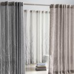 Natura Solid Grommet Panel - Curtain