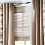 WholeHome®/MD Beckett Roman Shade with Hidden Cords