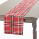 'Graydon Plaid' Table Runner