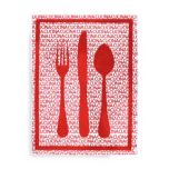 Harman Kardon Cucina' Dish-Drying Mat, Red